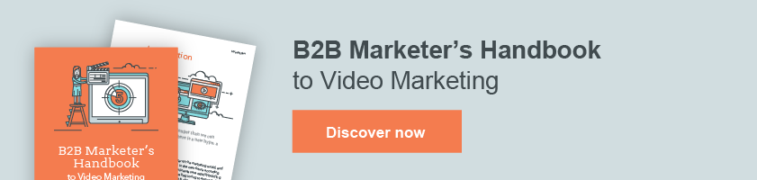 B2B Marketer's Handbook to Video Marketing